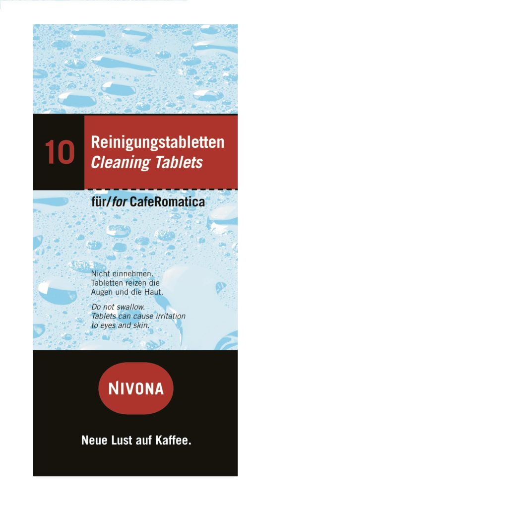 Reiniging tabletten Nivona RS11 NIRT
