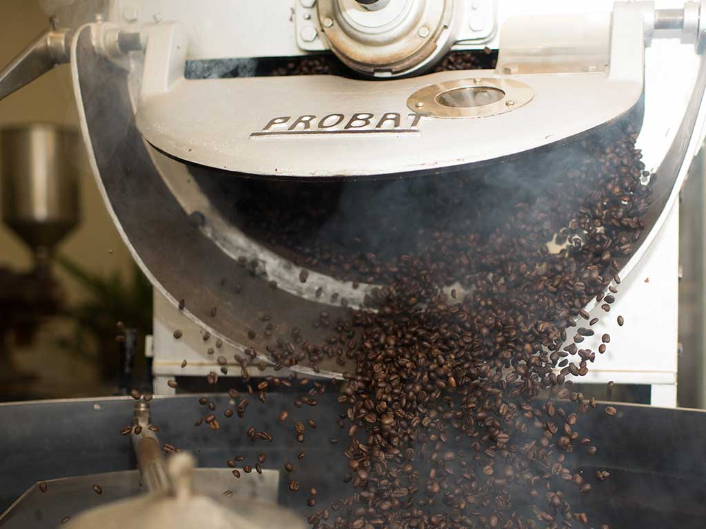 Tuscany Coffee koffiebonen brander