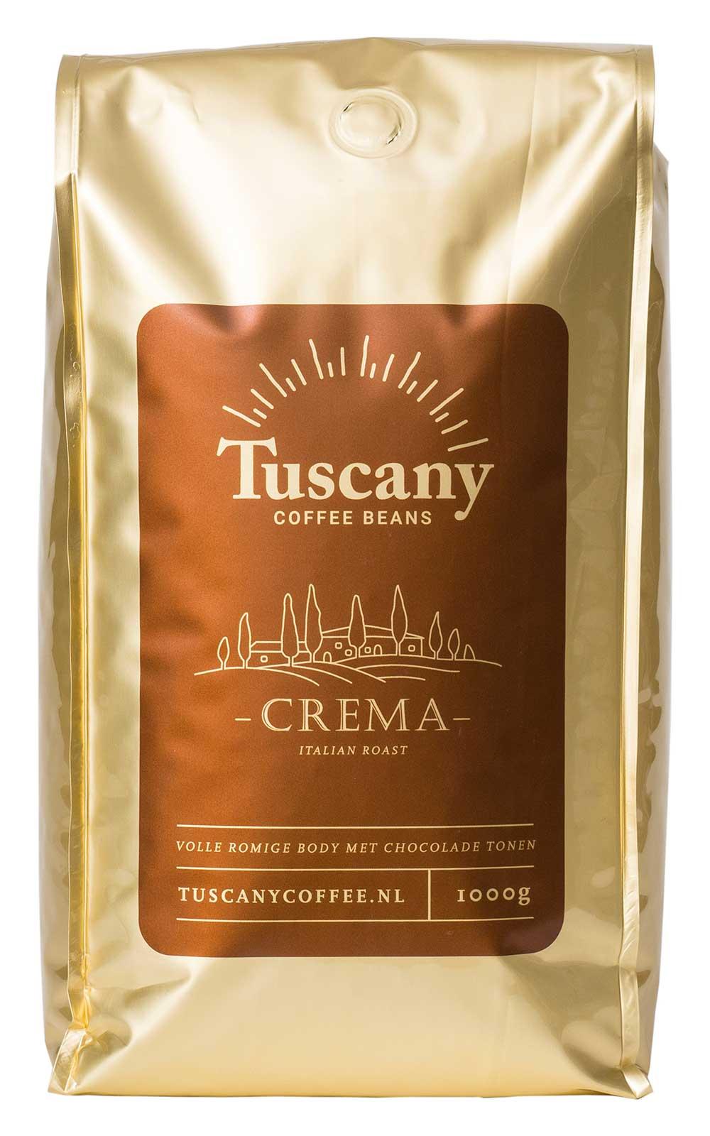 Tuscany Coffee koffiebonen espresso crema