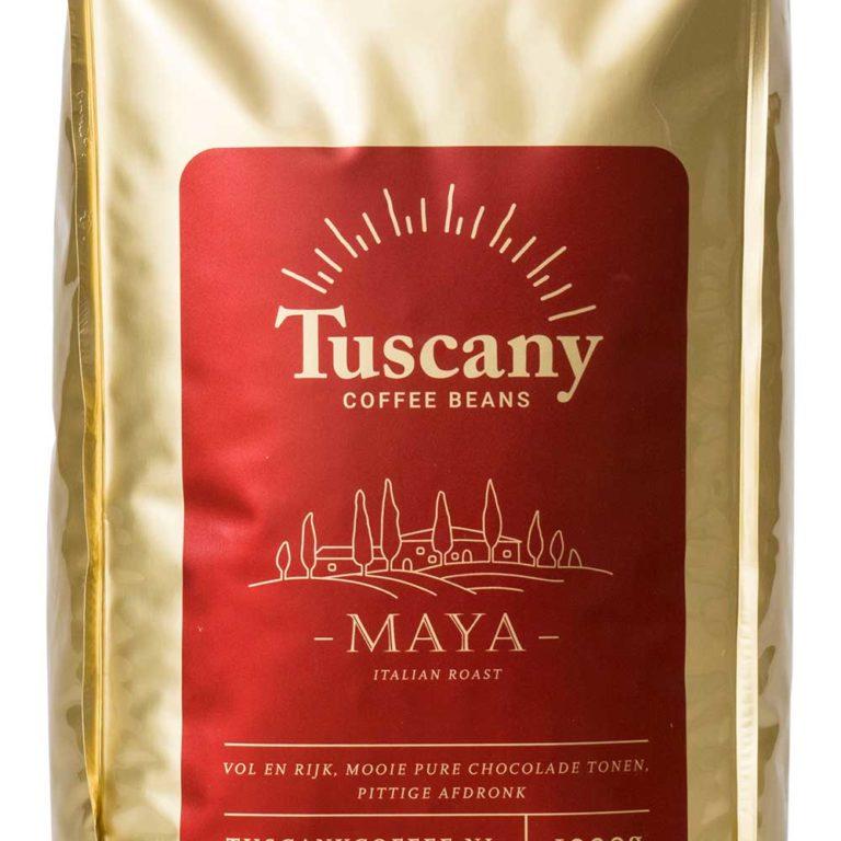 Tuscany Coffee koffiebonen espresso maya